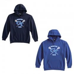 GT Lacrosse Cotton Hoodie