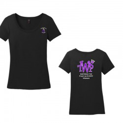 TWP Ladies Cotton Scoop Neck Tee
